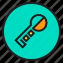 circle, key, sign icon