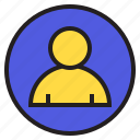 circle, people, sign icon