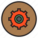 circle, service, sign