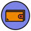 circle, sign, wallet