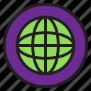 circle, sign, world