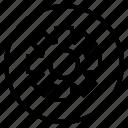 circle, gear, sign