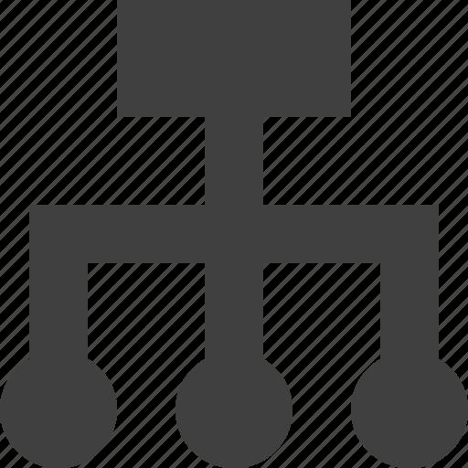 interface, sitemap, ui, user icon