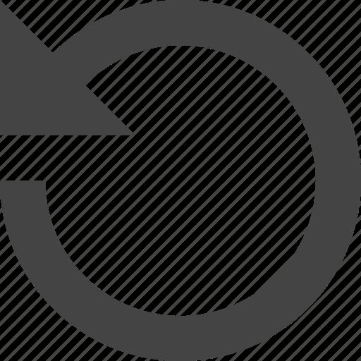 interface, reverse, ui, undo, user icon