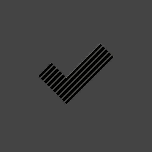 check, interface, square, ui, user icon