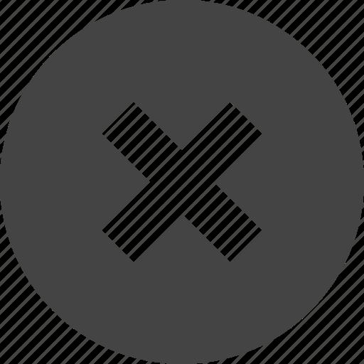 Circular, delete, interface, ui, user icon - Download on Iconfinder