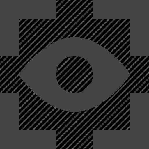 focus, interface, ui, user, view icon