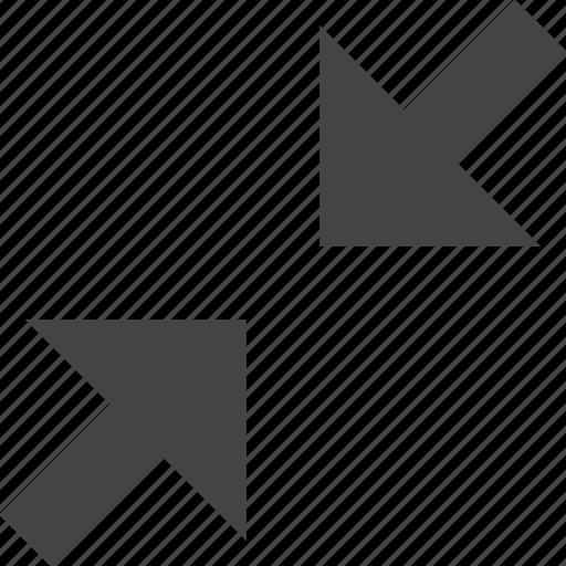 arrow, control, decrease, interface, resize, ui icon