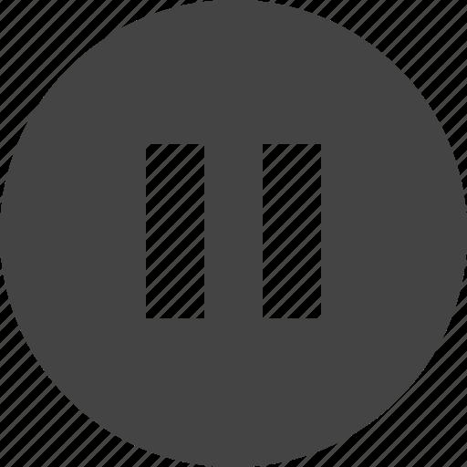 arrow, control, interface, pause, ui icon