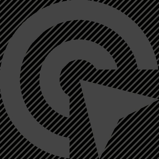 cursor, interface, mouse, target, ui icon