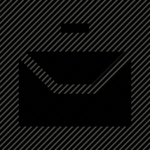delete, envelope, gui, mail, send, web icon