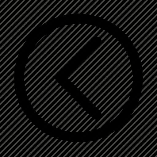 arrow, essential, interface, left, ui icon