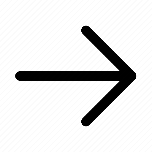 arrow, essential, interface, right icon