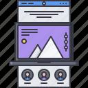 interface, landing, laptop, page, web, website, window