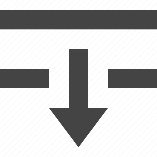 down, format, interface, text, ui icon