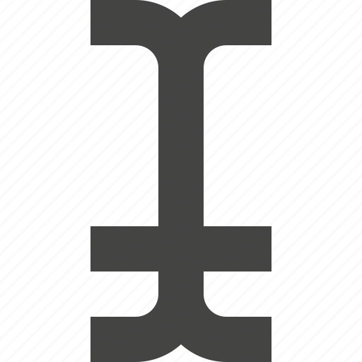 braket, format, interface, typography, ui icon