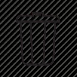 delete, interface, junk, spam, trash icon