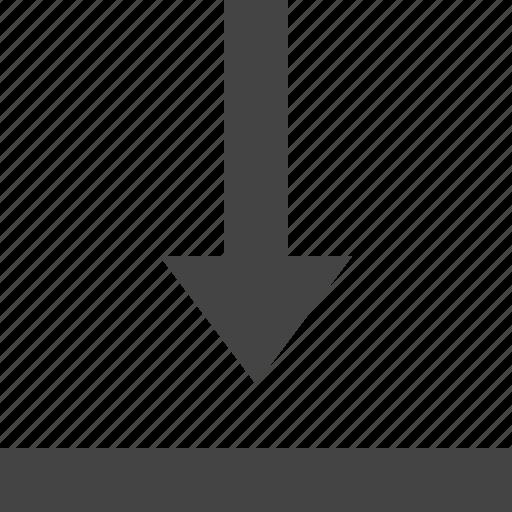 down, edge, grid, layout, theme, to icon