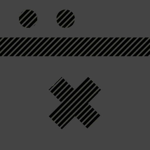 delete, grid, layout, theme, window icon