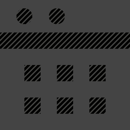 grid, layout, theme, window icon