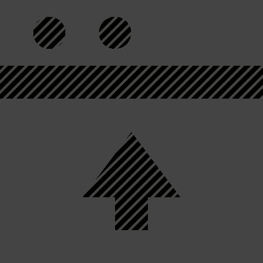 grid, layout, theme, up, window icon