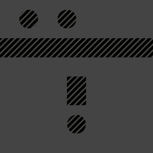 grid, layout, theme, warning, window icon