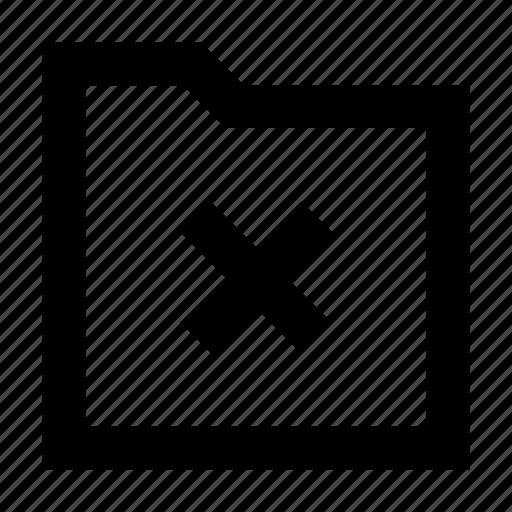 arrow, delete, folder, gui, web icon