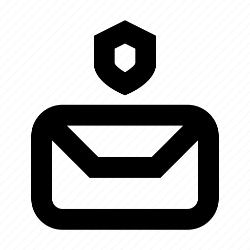 envelope, gui, mail, protect, send, web icon