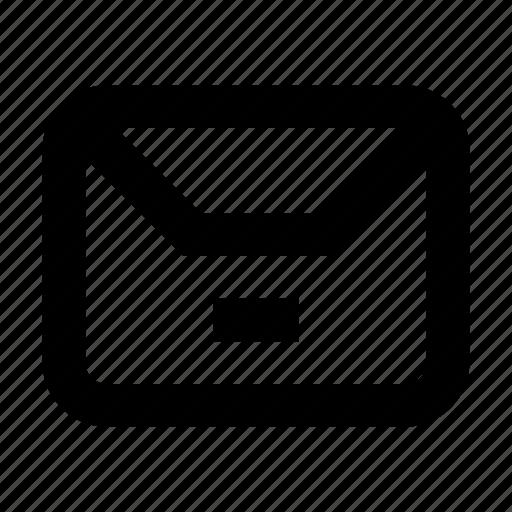 delivery, envelope, gui, mail, remove, web icon