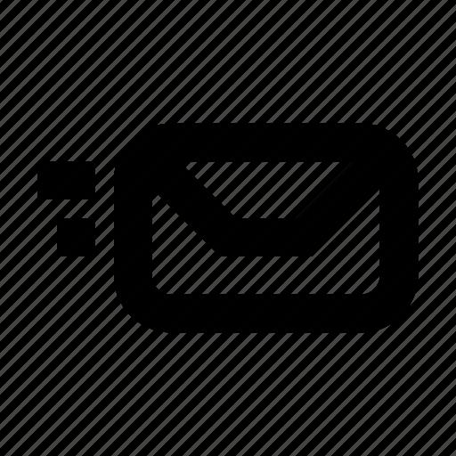 express, gui, mail, send, web icon