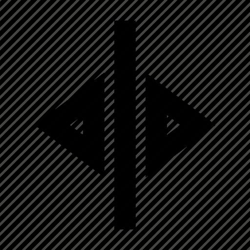 arrows, gui, horizontal, move, web icon