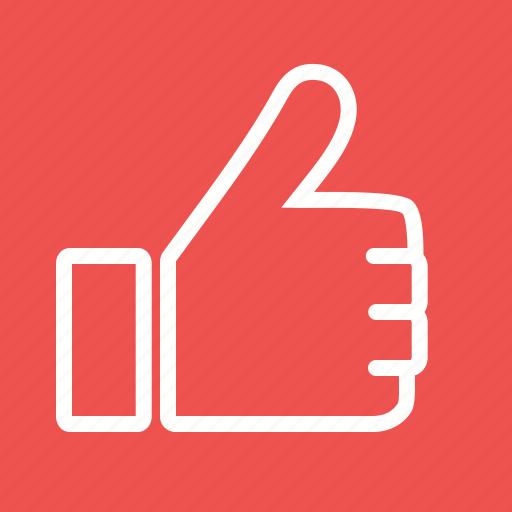 facebook, hand, like, social, success, thumb, up icon