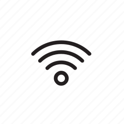 interface, internet, sign, wifi icon