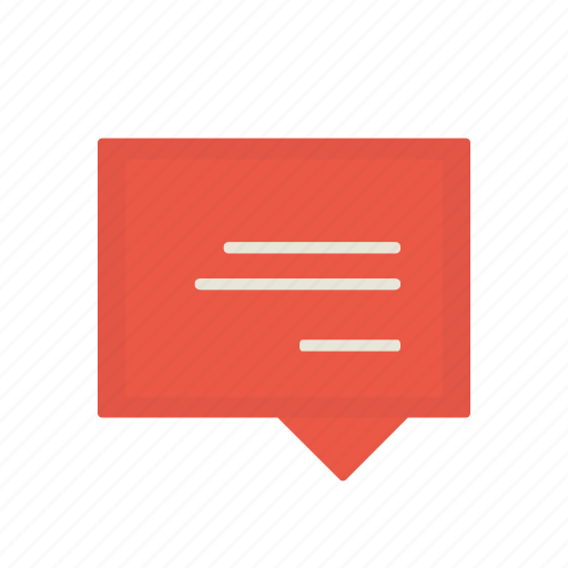 comment, interface, letter, message icon