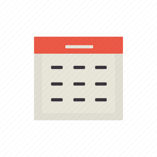 almanac, calendar, interface, month icon