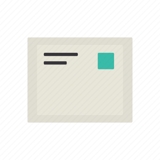 interface, letter, mail, message icon