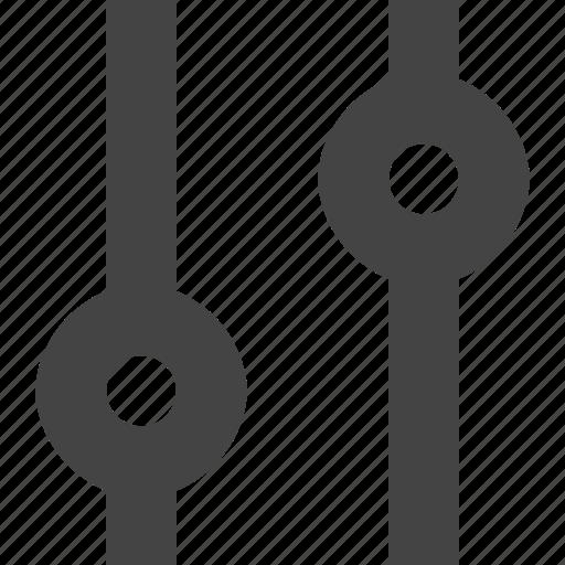 adjust, adjustment, configuration, line, mixer, setting, settings, vertical icon