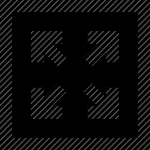 arrows, fullscreen, gui, scale, web icon