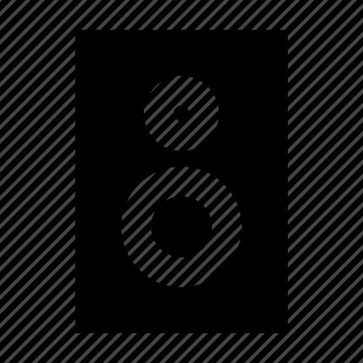 gui, media, multimedia, music, speaker, web icon