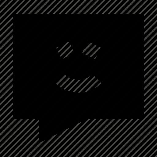 bubble, chat, contact, emoji, gui, speech, web icon