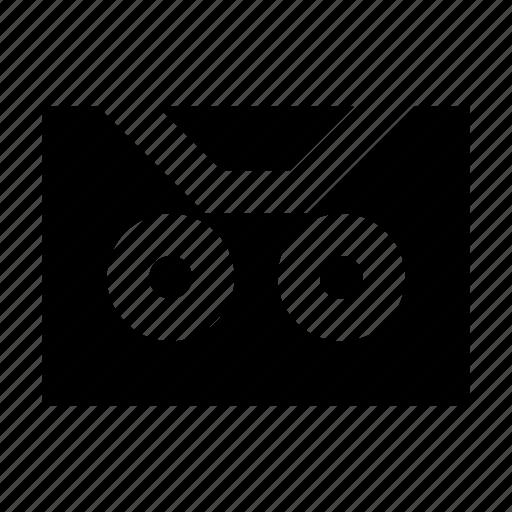 gui, media, multimedia, music, recording, tape, web icon