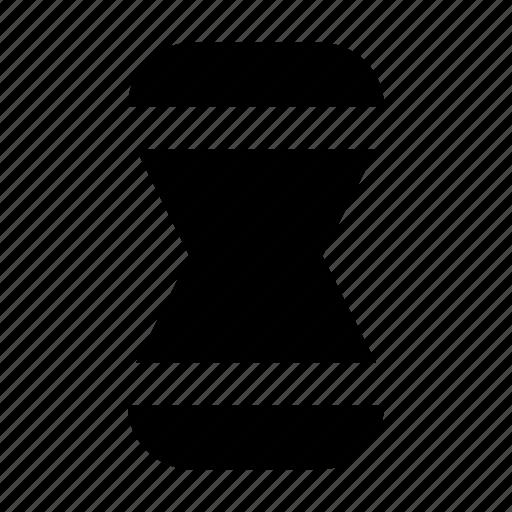 clock, gui, hourglass, time, web icon