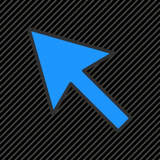 arrow, cursor, direct selection tool, pointer icon