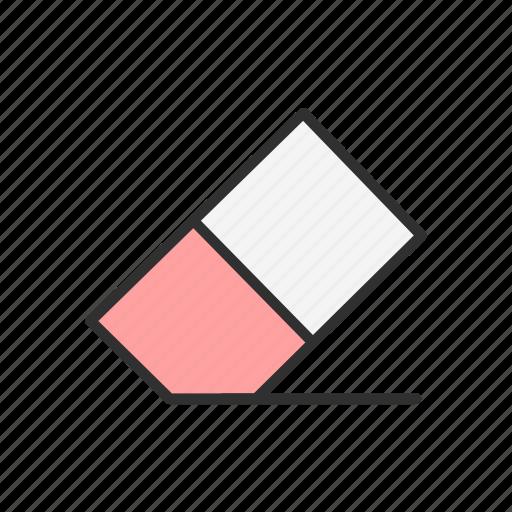 adobe tool, erase, eraser, eraser tool icon