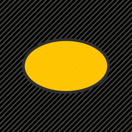 adobe tool, oval, shape, shape tool icon