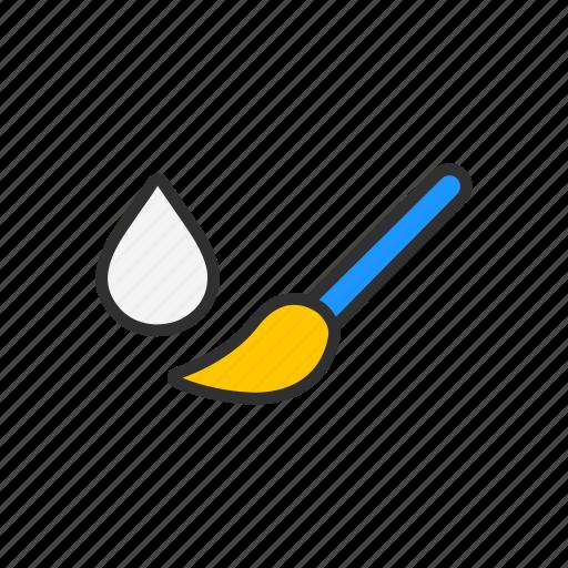 adobe tool, brush, paint brush tool, photoshop icon