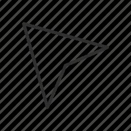arrow, photoshop, pointer, selection tool icon