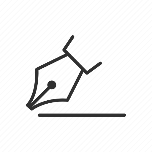 adobe, draw, pen tool, photoshop icon