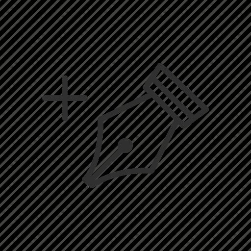 add anchor tool, adobe illustrator, pen tool, photoshop icon