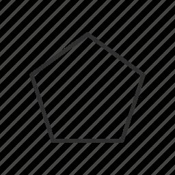adobe, polygon, polygon tool, shape icon
